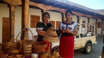 Maya Ixil basket designs
